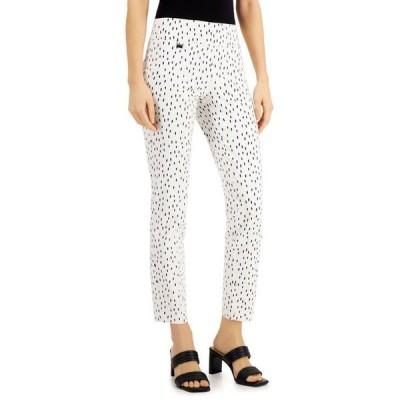 アルファニ レディース カジュアルパンツ ボトムス Dot-Print Pull-On Pants