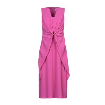 I BLUES 7分丈ワンピース・ドレス ライトパープル 42 アセテート 72% / ポリエステル 28% 7分丈ワンピース・ドレス