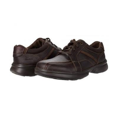 Clarks クラークス メンズ 男性用 シューズ 靴 オックスフォード 紳士靴 通勤靴 Bradley Walk - Brown Tumbled Leather