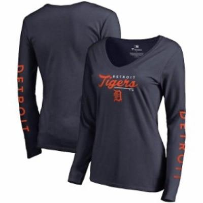 Fanatics Branded ファナティクス ブランド スポーツ用品  Fanatics Branded Detroit Tigers Womens Navy High Class L