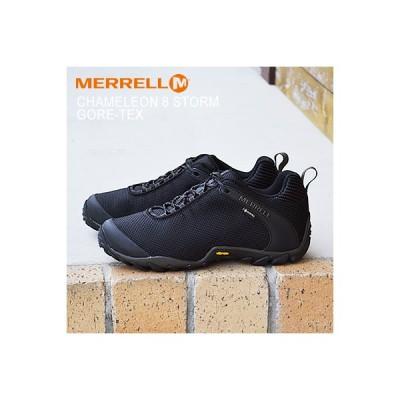 MERRELL メレル CHAMELEON 8 STORM GORE-TEX カメレオン 8 ストーム ゴアテックス BLACK ブラック