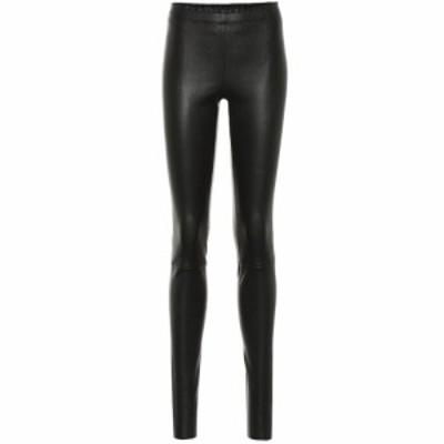 ストールス Stouls レディース ボトムス・パンツ Carolyn leather leggings Noir