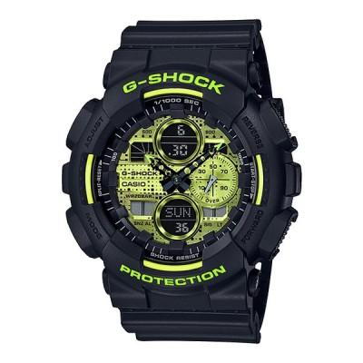 CASIO G-SHOCK GA-140DC-1AJF Black and Yellow メンズ アナデジ 腕時計 国内正規モデル