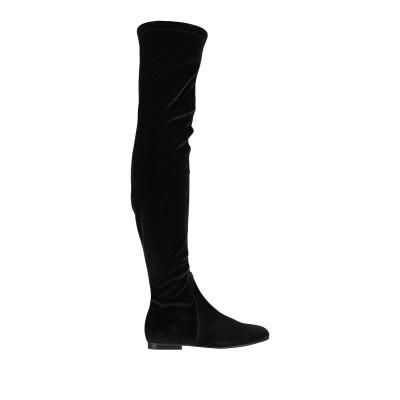 CREATIVE ブーツ ブラック 36 紡績繊維 ブーツ
