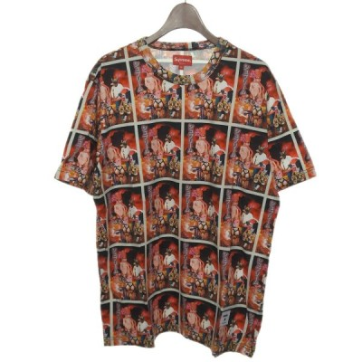 【SALE】SUPREME 2019SS「Sekintani La Norihiro S/S Top」総柄プリントTシャツ サイズ:M (渋谷店)