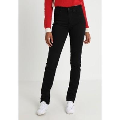 リーバイス レディース デニムパンツ ボトムス 724 HIGH RISE STRAIGHT - Straight leg jeans - black sheep black sheep