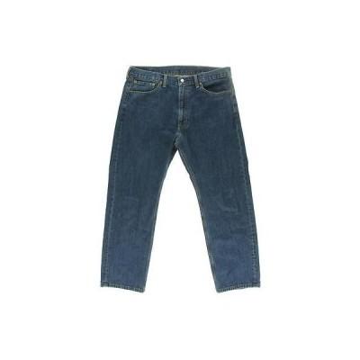 ジーンズ ボトムス パンツ リーバイス Levi Strauss & Co. 7748 メンズ 505 ブルー Regular Fit ストレート Leg ジーンズ 36/34