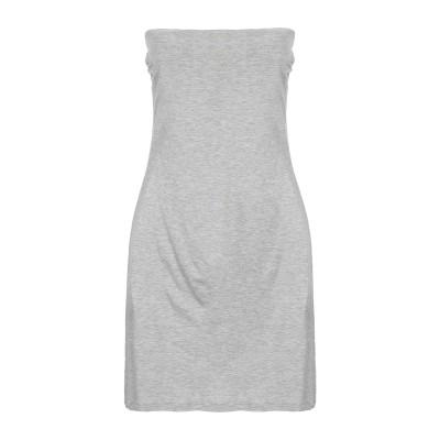 マニラ グレース MANILA GRACE ミニワンピース&ドレス グレー 0 レーヨン 94% / ポリウレタン 6% ミニワンピース&ドレス