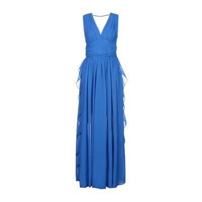 レリッシュ RELISH ロングワンピース&ドレス ブライトブルー S ポリエステル 100% ロングワンピース&ドレス