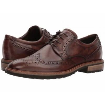 ECCO エコー メンズ 男性用 シューズ 靴 オックスフォード 紳士靴 通勤靴 Vitrus I Wingtip Tie Nature【送料無料】