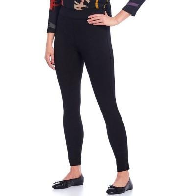 アリ マイルス レディース カジュアルパンツ ボトムス Petite Size Stretch Knit Skinny Pull-On Pant Black