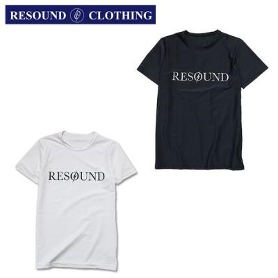 【RESOUND CLOTHING】リサウンドクロージング BOLTROGO RUSH TEE ボルトロゴラッシュガードTシャツ 半袖Tシャツ UVカット 特殊ラバープリント