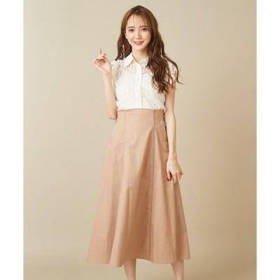 スカート ビックリボンパイピングスカート