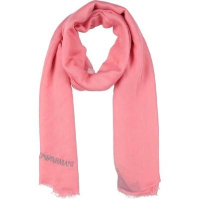 アルマーニ EMPORIO ARMANI レディース マフラー・スカーフ・ストール scarves Pink