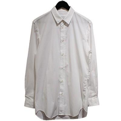 Martin Margiela 10 15AW REGULAR SHIRT レギュラーシャツ ホワイト サイズ:46 (青山店) 210207