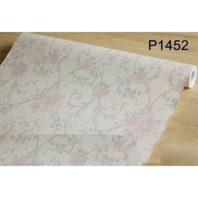【10M】p1452 ダマスク柄 フラワー 花柄 パターン 壁紙 シール リフォーム 多用途 ウォールステッカー はがせる リメイクシート
