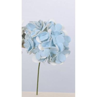 造花 アスカ ハイドランジアピック #019 ライトブルー A-39665-019 造花 花材「あ行」 あじさい 紫陽花