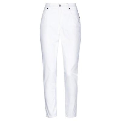 MARANI JEANS パンツ ホワイト 48 コットン 74% / ナイロン 23% / ポリウレタン 3% パンツ