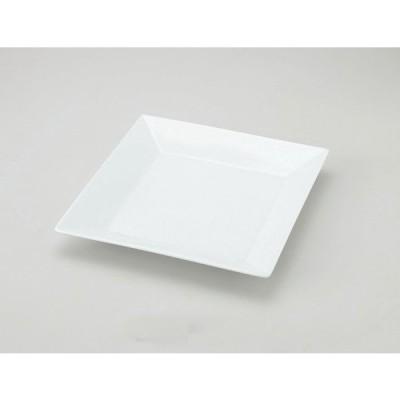 """洋陶器 オープン/CREA WHITE 10""""深口スクエアプレート [25 x 25 x 3.5cm]  料亭 旅館 和食器 飲食店 業務用"""