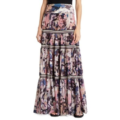 フィッジ レディース スカート ボトムス Long Camouflage-Print Convertible Skirt/Strapless Dress