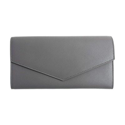 MALTA 長財布 レディース レザー 財布 牛革 ボタン留め ファスナー 小銭入れ カード入れ 薄型 二つ折り財布 薄い シンプル おしゃれ さいふ ロングウォレット グ