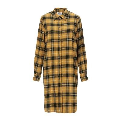 OTTOD'AME ミニワンピース&ドレス オークル 42 コットン 100% ミニワンピース&ドレス