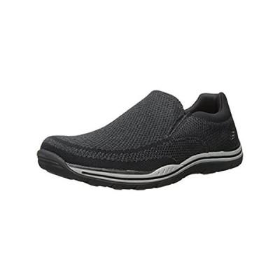 Skechers USA Men's Expected Gomel Slip-on Loafer,Black,12 M US
