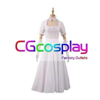 送料無料!! 激安!! スーパーマリオ キングテレサ姫 擬人化 白 コスプレ衣装