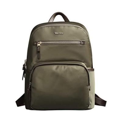 女性のパソコンバッグリュックレディースナイロン大容量ビジネスバッグA4防水14インチノートブック軽量ファッションバッグ