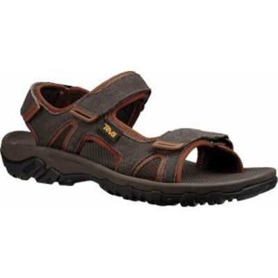 テバ メンズ サンダル シューズ Katavi 2 Active Sandal Black/Olive Suede