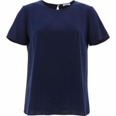 パロッシュ P.A.R.O.S.H. レディース Tシャツ トップス T-Shirt With Slit Blue