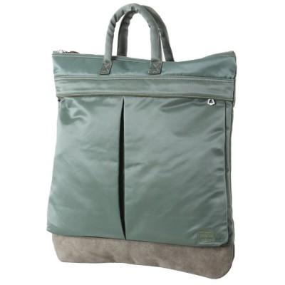 【カバンのセレクション】 吉田カバン ポーター フェード ヘルメットバッグ メンズ レディース B4 PORTER 188−02041 ユニセックス カーキ 在庫 Bag&Luggage SELECTION