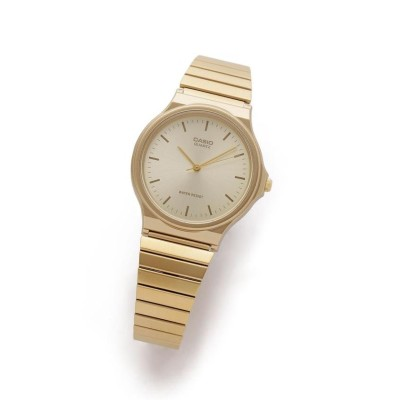 (nano・universe/ナノユニバース)《WEB限定》CASIO アナログ腕時計/メンズ ゴールド