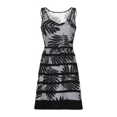 CRISTINAEFFE ミニワンピース&ドレス ブラック 40 ポリエステル 97% / ポリウレタン 3% ミニワンピース&ドレス