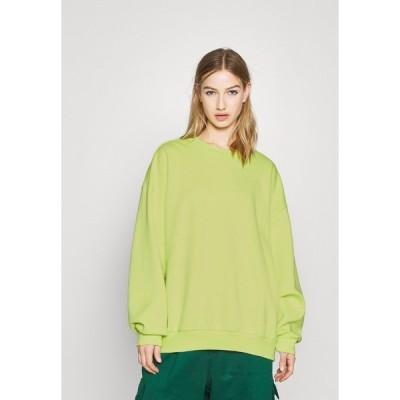 アディダスオリジナルス パーカー・スウェットシャツ レディース アウター Sweatshirt - neon green