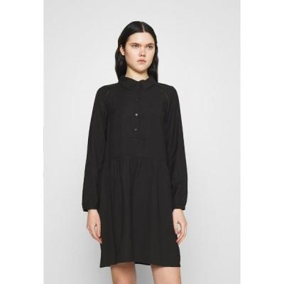 ヴェロモーダ ワンピース レディース トップス VMFAY TUNIC DRESS - Day dress - black