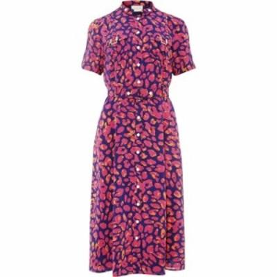 ダンセル Damsel in a Dress レディース ワンピース ワンピース・ドレス leonore leopard trench dress MultiColoured