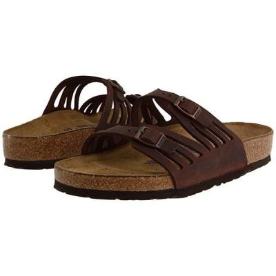 ビルケンシュトック Granada Soft Footbed レディース サンダル Habana Oiled Leather