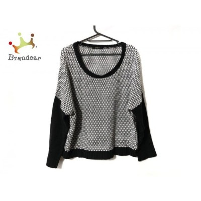 トルネードマート TORNADO MART 長袖セーター レディース - 黒×白 新着 20200317