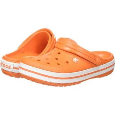 クロックス Crocs レディース シューズ・靴 Crocband Orange/White