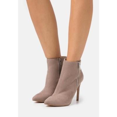 レディース 靴 シューズ High heeled ankle boots - taupe