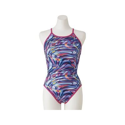 【P3倍+9%OFFクーポン】◎ミズノ レディース競泳水着 練習用 Ri Collection N2MA027165