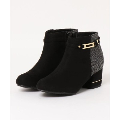 Mafmof / Realta(レアルタ) ビット付きサイドジップ ショートブーツ WOMEN シューズ > ブーツ