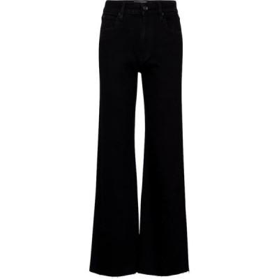 シルバーレーク Slvrlake レディース ジーンズ・デニム ワイドパンツ ボトムス・パンツ Grace high-rise wide-leg jeans Jet Black