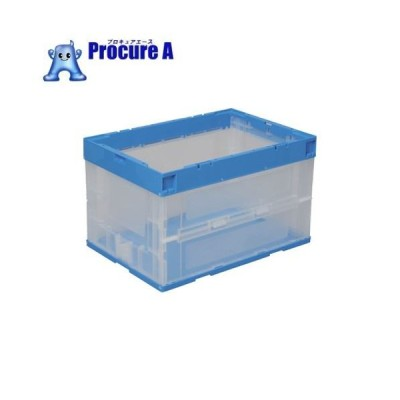 DIC パタパタ RP−50B ブルー透明 RP-50B  ▼759-2302 DICプラスチック(株) 容器資材営業部
