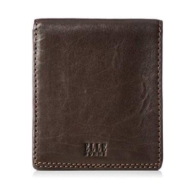 [エルオム] 二つ折り財布(小銭入れなし) シープ エルオム XP34580 (チョコ Free Size)