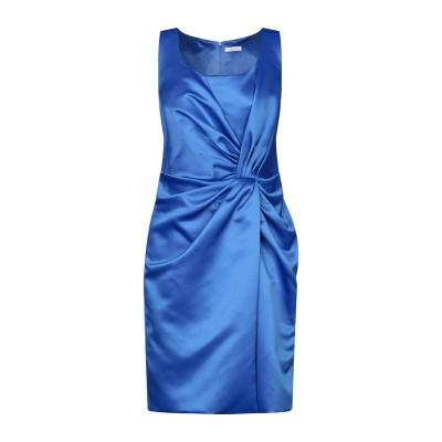 ANUG ミニワンピース&ドレス ブルー 44 ポリエステル 100% ミニワンピース&ドレス
