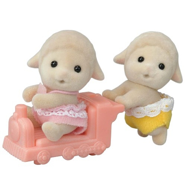 《 森林家族 》綿羊雙胞胎 / JOYBUS玩具百貨