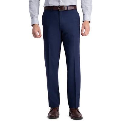 ハガー メンズ カジュアルパンツ ボトムス Premium Comfort Straight Fit Flat Front Dress Pants