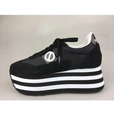 ノーネーム/NO NAME FLEX  L JOG ナイロン ブラック 靴 スニーカー